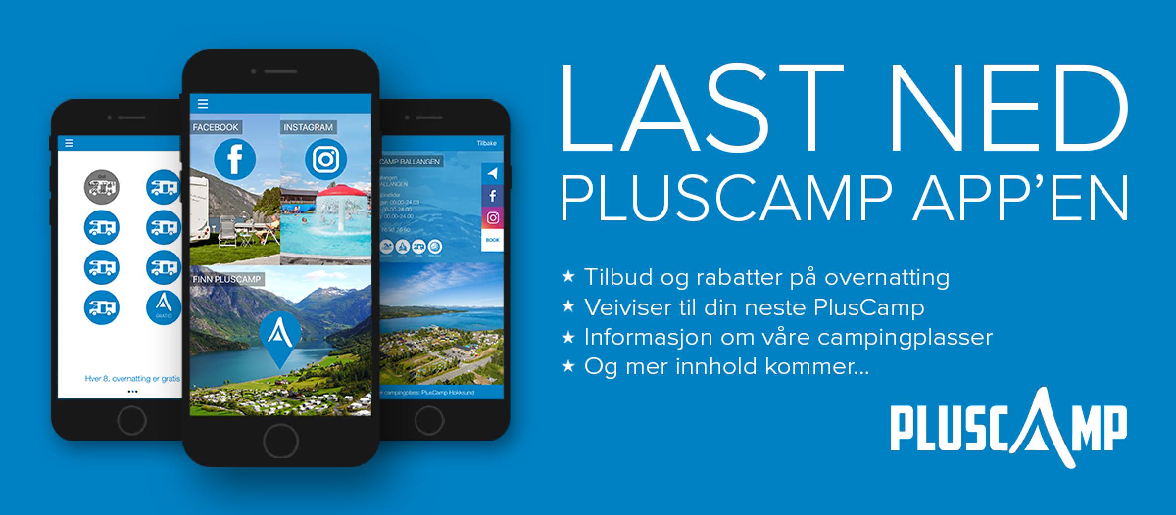 Laden Sie die Pluscamp-App herunter